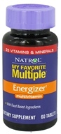 Natrol - My Favorite Multiple Energizer - 60 Tablets CLEARANCED PRICED - $5.28