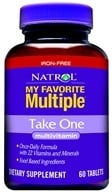 Natrol - My Favorite Multiple No Iron Take One - 60 Tablets - $11