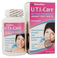 NaturalCare - UTI-Care Urinary Tract Health - 60 Capsules, from category: Homeopathy