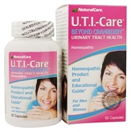 NaturalCare - UTI-Care Urinary Tract Health - 60 Capsules (705692396607)