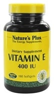 Nature's Plus - Vitamin E 400 IU - 180 Softgels by Nature's Plus