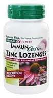 Image of Nature's Plus - Herbal Actives ImmunActin Zinc Lozenges - 60 Lozenges