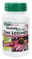 Nature's Plus - Herbal Actives ImmunActin Zinc Lozenges - 60 Lozenges