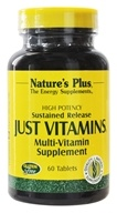 Nature's Plus - Just Vitamins Sustained Release - 60 Tablets - $31.91