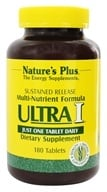 Nature's Plus - Ultra I Multi Nutrient Supplement Sustained Release - 180 Tablets, from category: Vitamins & Minerals
