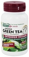 Image of Nature's Plus - Herbal Actives Chinese Green Tea Extended Release 750 mg. - 30 Tablets