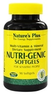 Nature's Plus - Nutri-Genic Multi Vitamin and Mineral Supplement - 90 Softgels, from category: Vitamins & Minerals