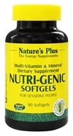 Nature's Plus - Nutri-Genic Multi Vitamin and Mineral Supplement - 90 Softgels by Nature's Plus