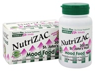 Nature's Plus - Herbal Actives NutriZAC St. John's Wort Mood Food 300 mg. - 60 Tablets