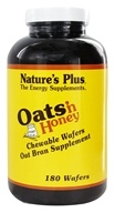 Image of Nature's Plus - Oats 'n Honey Chewable Oat Bran Wafers - 180 Wafers with Oat Straw Extract