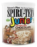 Nature's Plus - Spiru-Tein JUNIOR Nutritious Milk Shake Chocolate - 1.09 lbs. (097467456020)