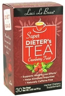 Laci Le Beau - Super Dieter's Tea Cranberry Twist Caffeine Free - 30 Tea Bags CLEARANCE PRICED
