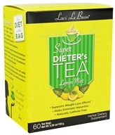 Laci Le Beau - Super Dieter's Tea Caffeine Free Lemon Mint - 60 Tea Bags