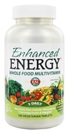 Kal - Enhanced Energy Whole Food MultiVitamin - 180 Vegetarian Tablets (021245710011)