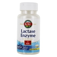 Kal - Lactase Enzyme 250 mg. - 60 Softgels by Kal