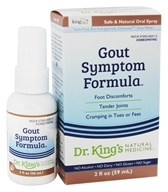 King Bio - Homeopathic Natural Medicine Gout Symptom Reliever - 2 oz. by King Bio