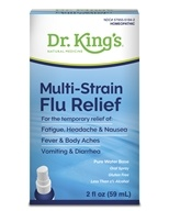 King Bio - Multi-Strain Flu Relief Homeopathic Spray - 2 oz. (formerly Influezna)