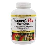 Natural Factors - Dr. Murray's Women's Plus Multistart - 180 Tablets (068958015842)