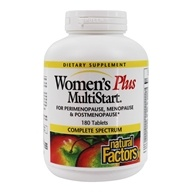 Natural Factors - Dr. Murray's Women's Plus Multistart - 180 Tablets by Natural Factors