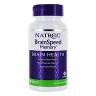 Natrol - Brain Speed Memory - 60 Tablets - $17.35