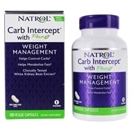 Natrol - Carb Intercept With Phase 2 - 120 Capsules Contains White Kidney Bean Extract (047469042912)