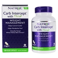 Natrol - Carb Intercept With Phase 2 - 120 Capsules Contains White Kidney Bean Extract by Natrol