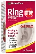 NaturalCare - Ring Stop Homeopathic - 60 Capsules - $21.44