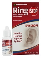 NaturalCare - Ring Stop Ear Drops - 0.5 oz. by NaturalCare