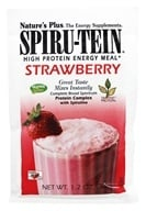 Nature's Plus - Spiru-Tein High Protein Energy Meal Strawberry - 1 Packet (097467458413)