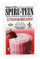 Image of Nature's Plus - Spiru-Tein High Protein Energy Meal Strawberry - 1 Packet