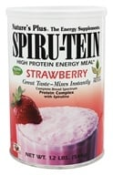 Image of Nature's Plus - Spiru-Tein High Protein Energy Meal Strawberry - 1.2 lbs.