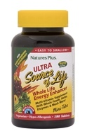 Nature's Plus - Ultra Source Of Life Mini-Tabs - 180 Tablets