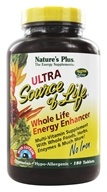 Nature's Plus - Ultra Source Of Life With Lutein No Iron - 180 Tablets (097467305267)