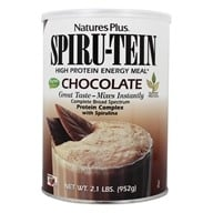 Nature's Plus - Spiru-Tein High Protein Energy Meal Chocolate - 2.1 lbs. by Nature's Plus
