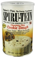Image of Nature's Plus - Spiru-Tein High Protein Energy Cookie Dough - 1.12 lbs.