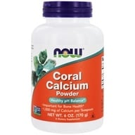 NOW Foods - Coral Calcium Pure Powder - 6 oz. (733739012746)