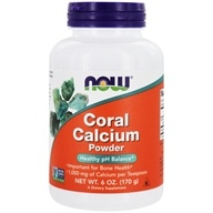 NOW Foods - Coral Calcium Pure Powder - 6 oz., from category: Vitamins & Minerals