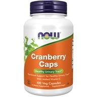 Image of NOW Foods - Cranberry Concentrate - 100 Capsules