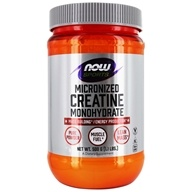 NOW Foods - Micronized Creatine Mononhydrate 100% Pure Powder - 1.1 lbs. (733739020383)
