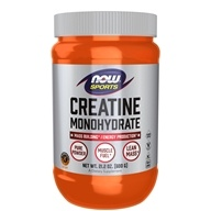 NOW Foods - Creatine Monohydrate 100% Pure Powder - 21.2 oz. (733739020314)