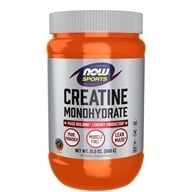 NOW Foods - Creatine Monohydrate 100% Pure Powder - 21.2 oz., from category: Sports Nutrition