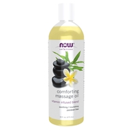 Image of NOW Foods - Comforting Massage Oil - 16 oz.
