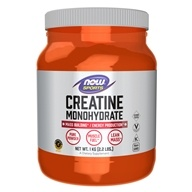 NOW Foods - Creatine Monohydrate 100% Pure Powder - 2.2 lbs. (733739020321)