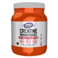 Image of NOW Foods - Creatine Monohydrate 100% Pure Powder - 2.2 lbs.