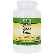 NOW Foods - Guar Gum Powder - 8 oz. (733739050403)