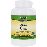 Image of NOW Foods - Guar Gum Powder - 8 oz.