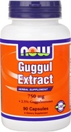 NOW Foods - Guggul Extract 750 mg. - 90 Capsules (733739047090)