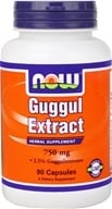 NOW Foods - Guggul Extract 750 mg. - 90 Capsules by NOW Foods