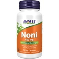 NOW Foods - Hawaiian Noni 450 mg. - 90 Vegetarian Capsules - $11.29