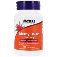 NOW Foods - Methyl B-12 1000 mcg. - 100 Lozenges, from category: Vitamins & Minerals
